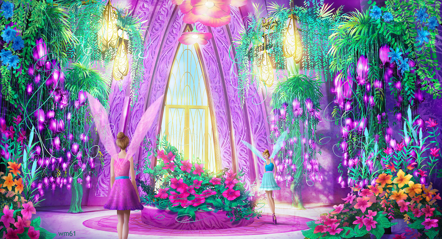 Concept Art Of Mariposa And The Fairy Princess Barbie