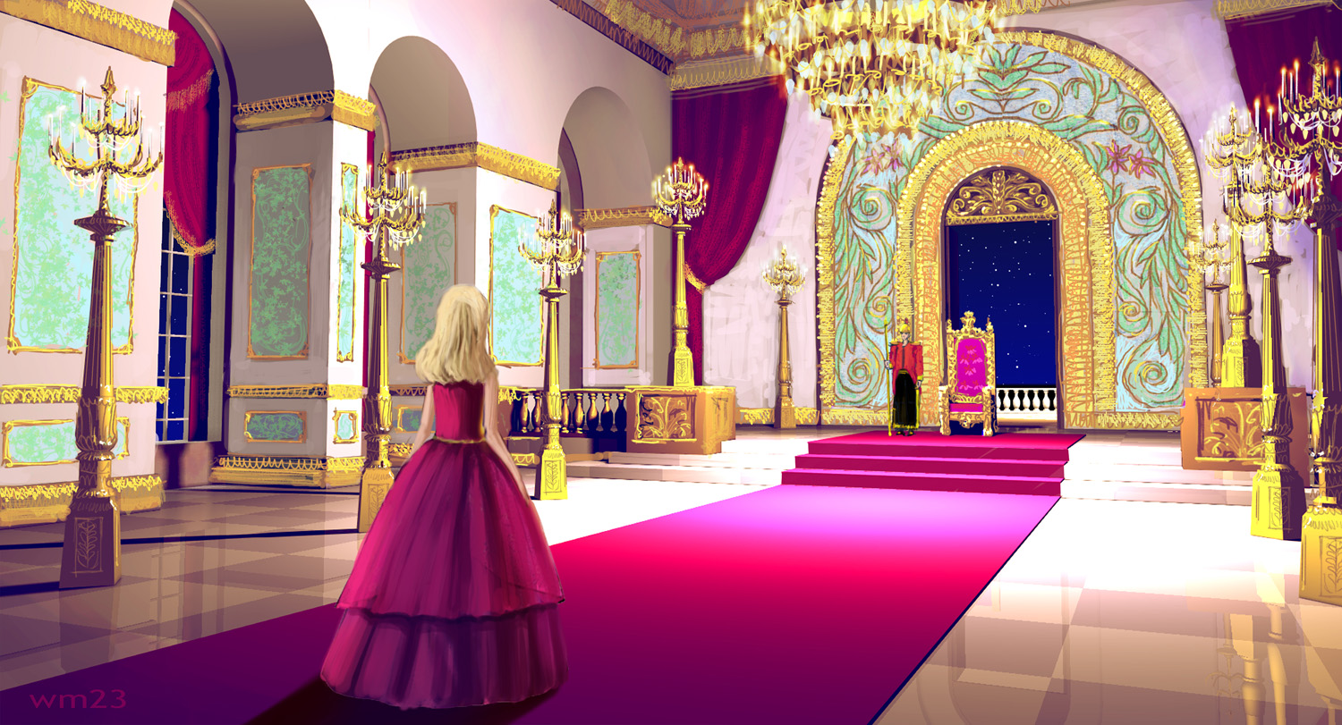 Concept Art of the Princess and