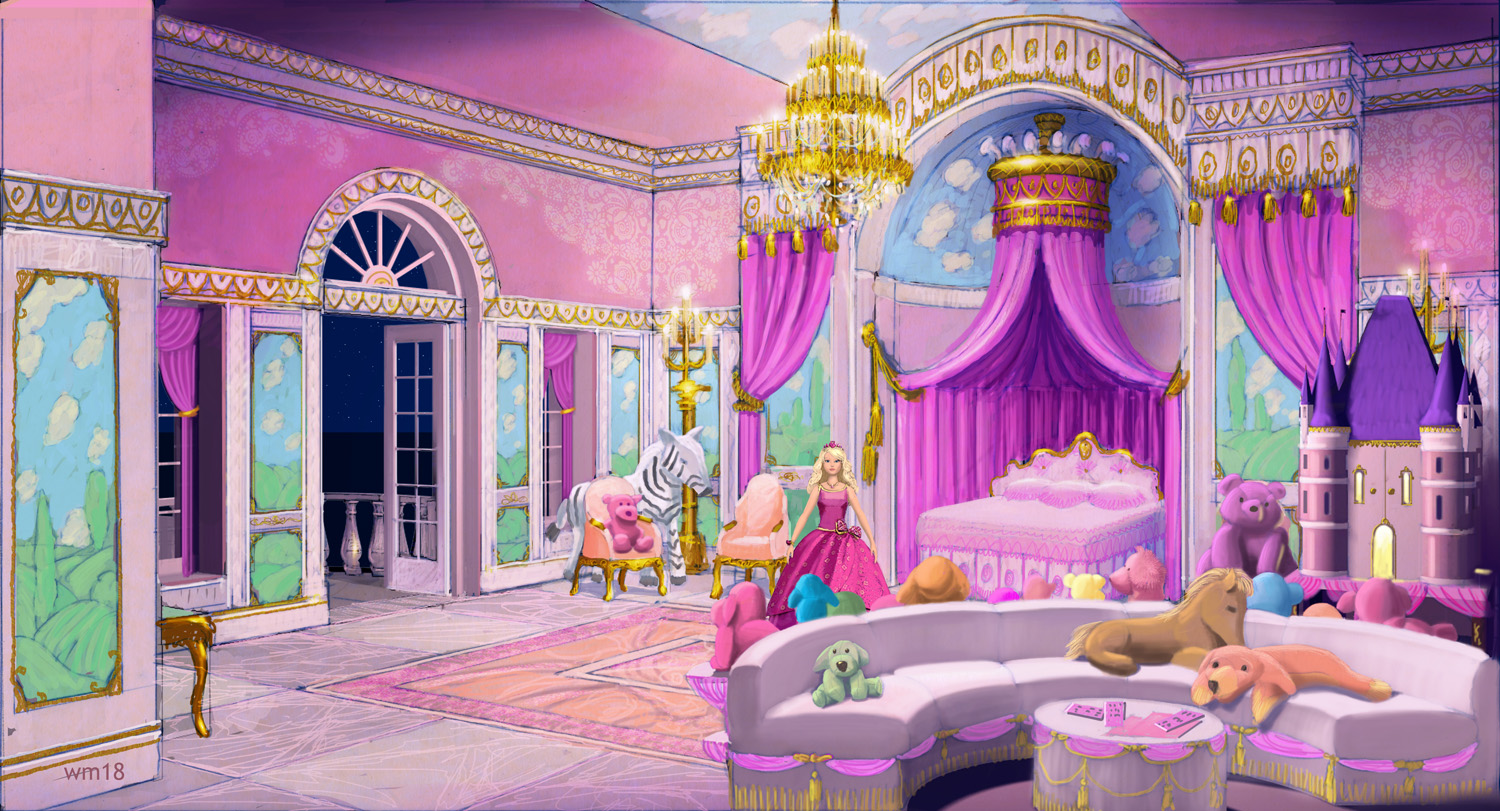 Concept Art of the Princess and the Popstar Barbie Movies Fanpop
