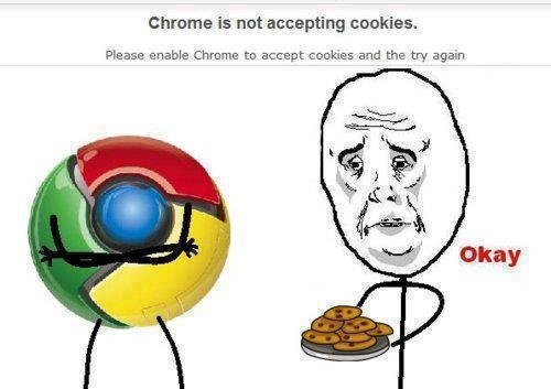 Google Chrome wallpaper entitled Cookies for Chrome