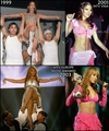 Copycat - Beyonce copies Jennifer Lopez - womens-fashion fan art