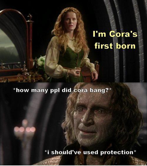 Cora's first born