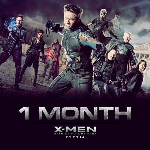 X-Men: Days of Future Past 바탕화면 containing 아니메 entitled Countdown to X-Men: 1 월