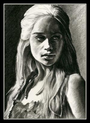 Daenerys drawing sa pamamagitan ng Jenny Jenkins