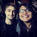 Daniel Radcliffe with a fan (Fb.com/DanieljacobRadcliffeFanClub) - daniel-radcliffe photo