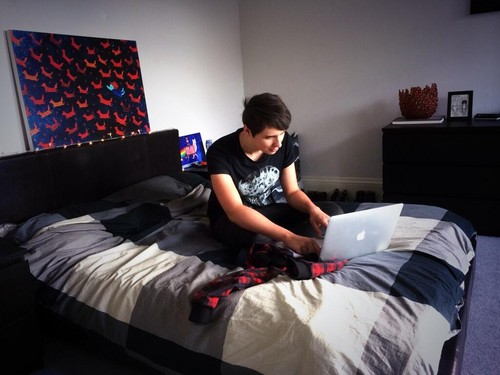 danisnotonfire wallpaper possibly containing a family room, a bedroom, and a living room entitled Danisnotonfire!