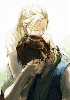 Daryl and Beth (Bethyl)