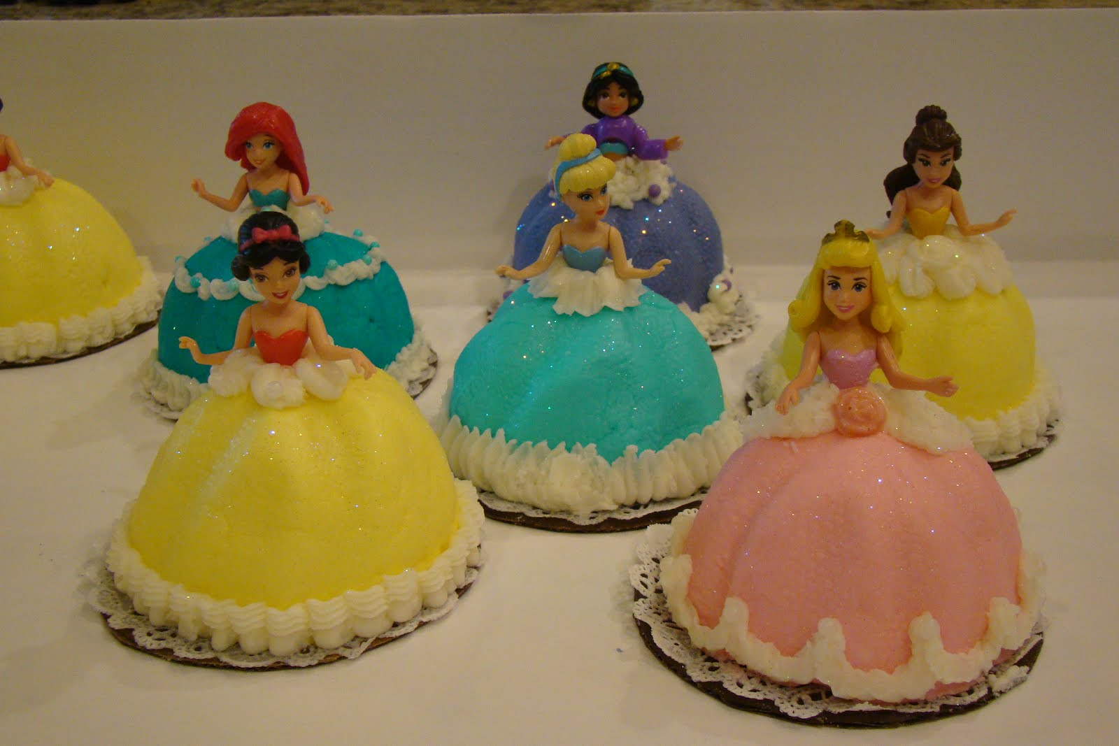 Princess Cupcake Images : Disney Princess Cupcakes - Disney Photo (36996839) - Fanpop