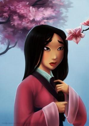 Disney Princess, Mulan