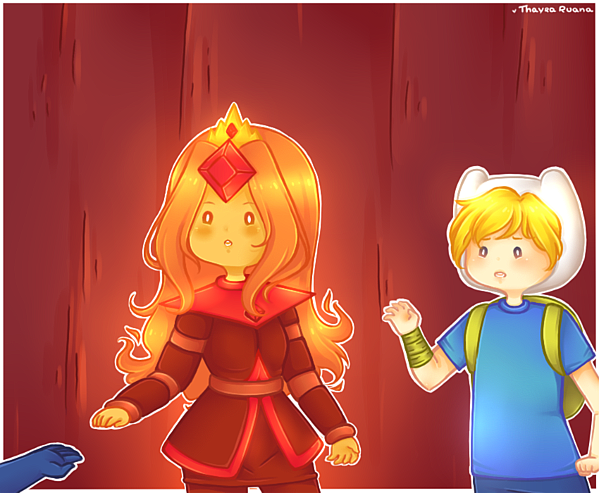 Are flame princess and cinnamon bun dating