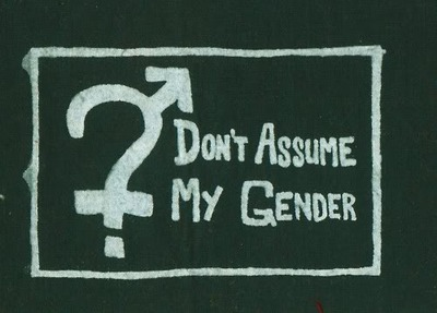 LGBT wallpaper called Don't assume.