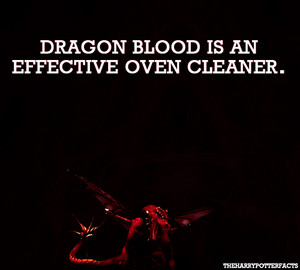 Dragon blood cleans ovens