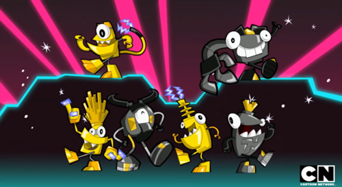 Mixels Wallpaper Containing Anime Titled Electron Dance Party