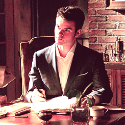 "Elijah and Klaus → The Originals 1x19 ""An Unblinking Death"" episode stills"