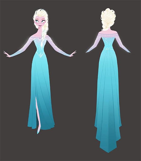 Elsa Concept Art - Elsa and Anna Photo (36911815) - Fanpop
