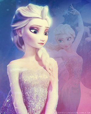 Elsa Looking Through the Past