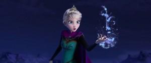 Elsa Releases her Magic