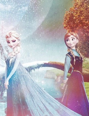 Elsa and Anna: Sisterly Love