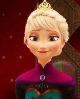 Elsa at her coronation