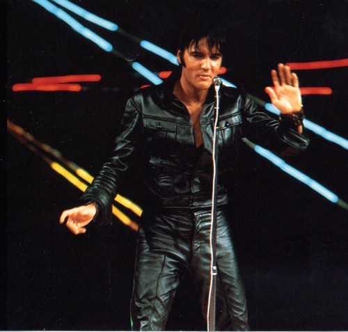 Elvis Presley Hintergrund with a konzert called Elvis Presley '68 comeback special