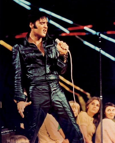 Elvis Presley wallpaper with a concert entitled Elvis Presley '68 comeback special
