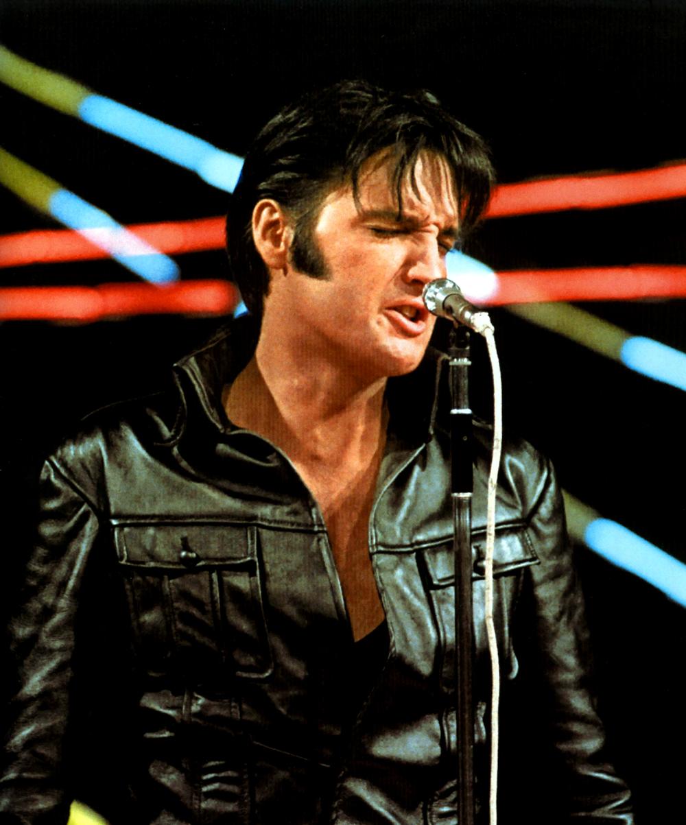 Elvis Presley 68 Comeback Special Elvis Presley Foto