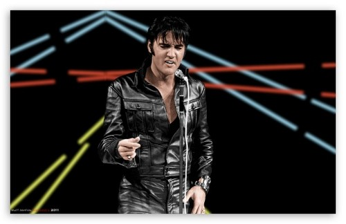 Elvis Presley Hintergrund with a business suit called Elvis Presley '68 comeback special