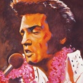 Elvis Presley - celebrities-who-died-young fan art