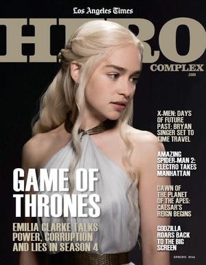Emilia Clarke - Hero Complex Magazine