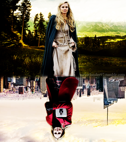 once upon a time wallpaper containing a barrow called Emma