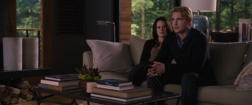 Esme Cullen wallpaper with a living room, a family room, and a morning room entitled Esme and Carlisle
