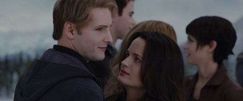 The Cullens wallpaper possibly containing a portrait called Esme and Carlisle