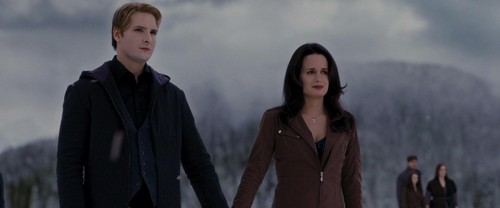 The Cullens wallpaper with a well dressed person titled Esme and Carlisle