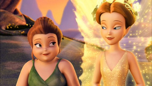 Disney Elfen Filme Hintergrund probably containing a portrait called Fairy Mary and Queen Clarion