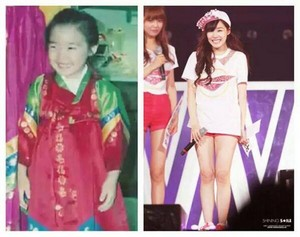 Fany now and before