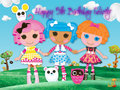 Felicity's 5th Birthday - lalaloopsy fan art