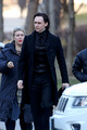 Filming Crimson Peak - tom-hiddleston photo