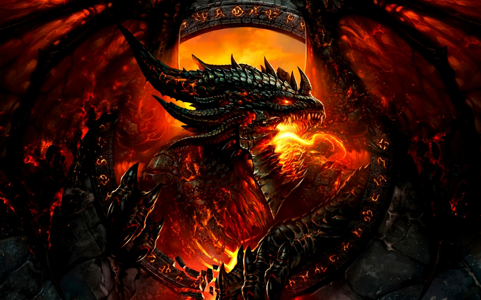 Club Of Awesomeness Images Fire Dragon HD Wallpaper And