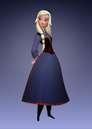 Frozen: Anna Alternative Design.