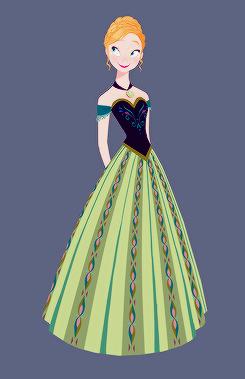 Frozen - Uma Aventura Congelante Concept Art por Brittney Lee