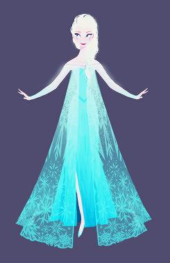 Frozen Concept Art da Brittney Lee