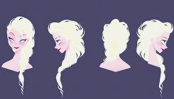 Frozen Concept Art by Brittney Lee