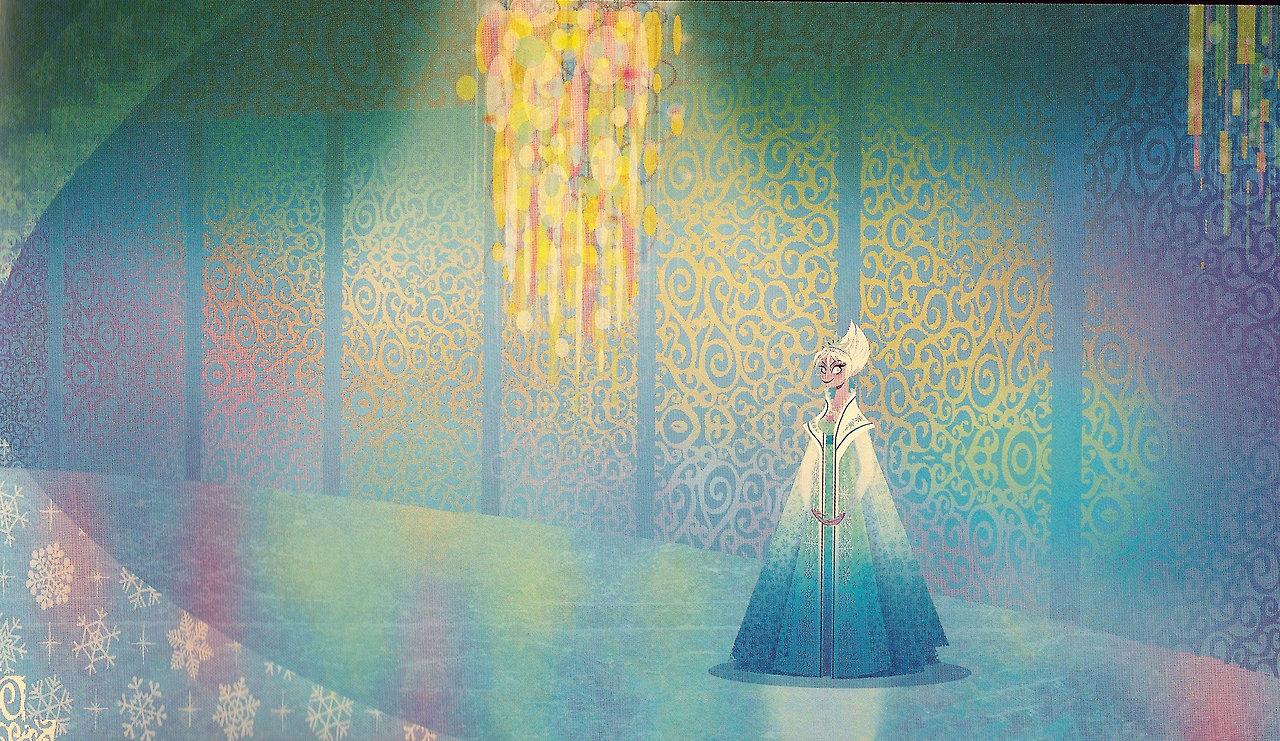 Frozen Concept Art by Julia Kalantarova - Elsa the Snow ...