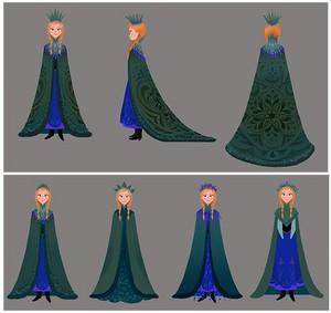 फ्रोज़न - Costume डिज़ाइन