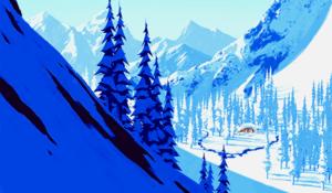 겨울왕국 - Visual Development Art