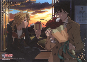 Fullmetal Alchemist - Edward and Roy