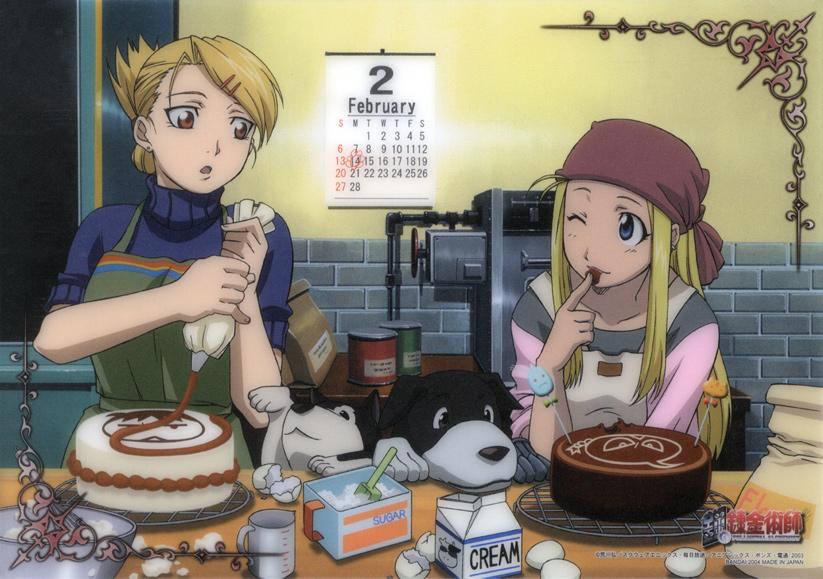Fullmetal Alchemist - Riza and Winry