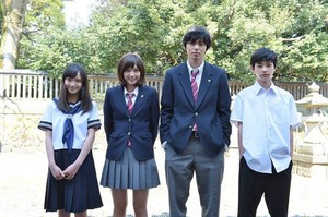 Futaba, Kou and their middle school selves