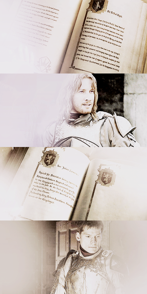 Arthur Dayne & Jaime Lannister