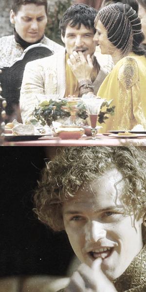 Oberyn Martell & Loras Tyrell
